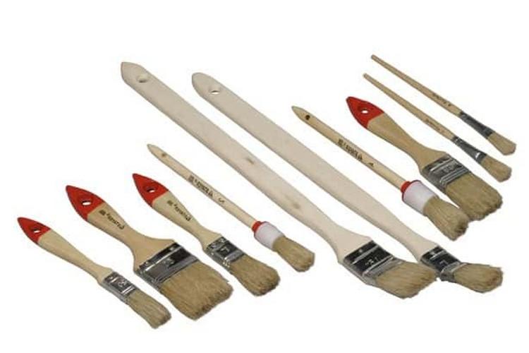 Малярный инструмент - фото Правила выбора кистей