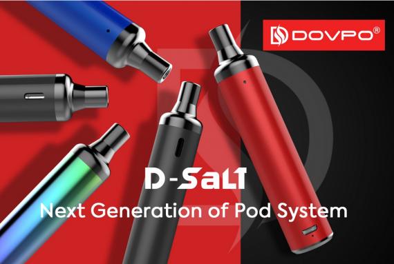 Dovpo D-Salt Pod System - серьезно настроенный солевик...