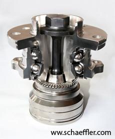 Ступичный подшипник Schaeffler Group - легкий для монтажа, компактный и с малым весом