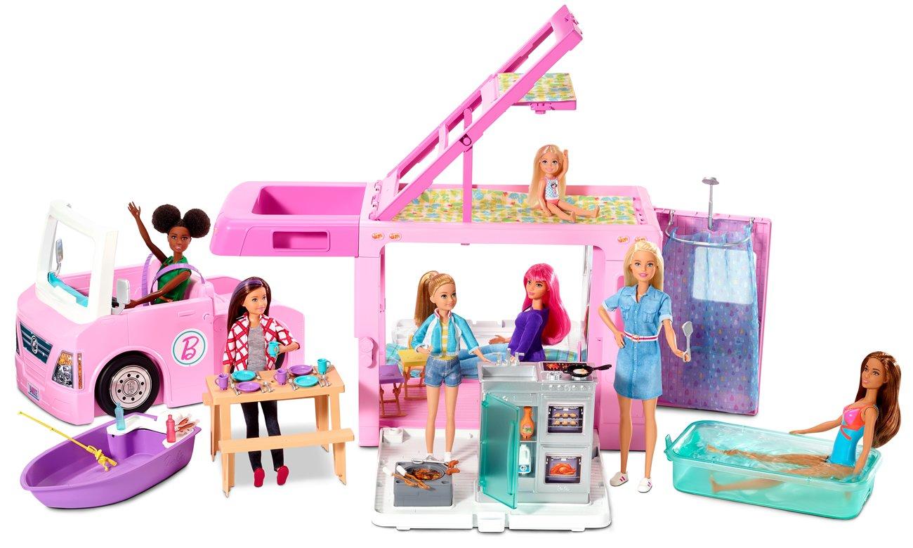 машина для ляльки Барбі з аксесуарами
