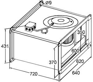 Вентилятор Канальный SVF 60-35 - фото 1