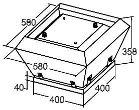 Вентилятор Крышный SRV 40 - фото 1