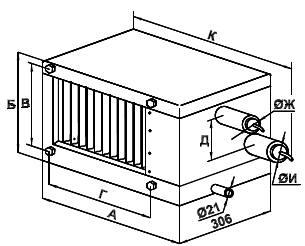 Фреоновый Воздухоохладитель SDC 90-50 - фото 1