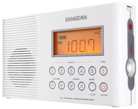 Фото радио для ванной комнаты Sangean H-201