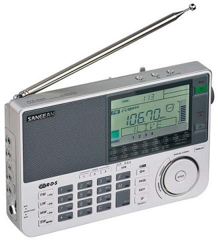 Фото всеволнового радиоприемника высокого класса Sangean ATS-909X