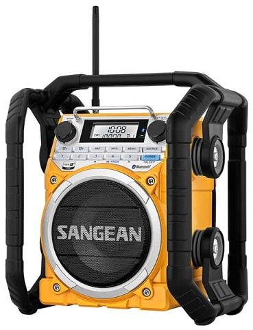 Фото радиовещательного приемника для стройки Sangean U4
