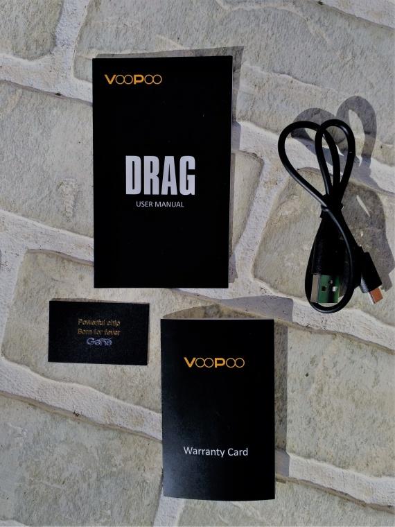 Обзор на мод VOOPOO DRAG 157W