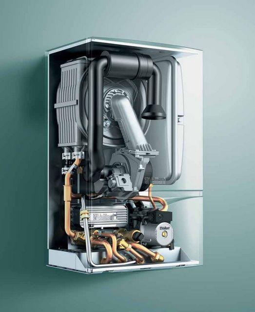 Котлы газовые - фото Самыми совершенными и экономичными считаются котлы с конденсационным теплообменником