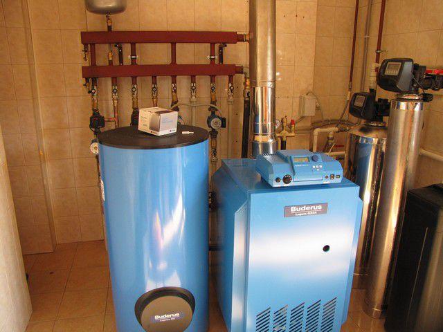 Котлы газовые - фото Самое оптимальное решение - оборудование отдельной котельной