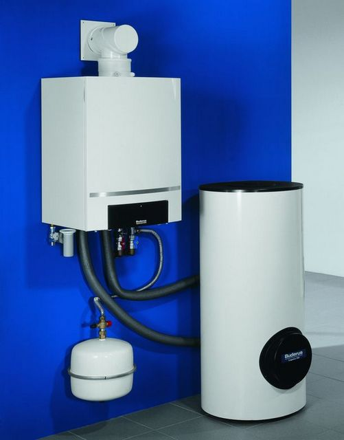 Котлы газовые - фото Использование бойлера косвенного нагрева потребует дополнительного резерва мощности котла