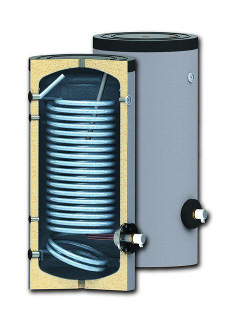 Котлы газовые - фото Принципиальное устройство бойлера косвенного нагрева