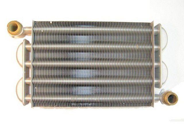 Котлы газовые - фото Первичный одноканальный теплообменник котла