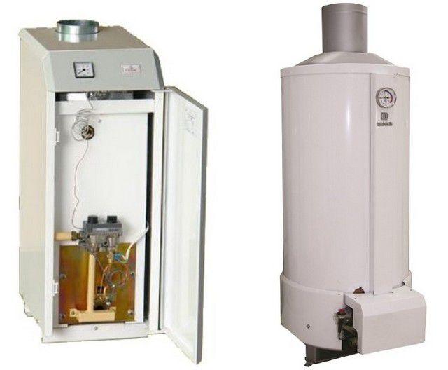 Котлы газовые - фото Несложные, но очень надежные энергонезависимые котлы