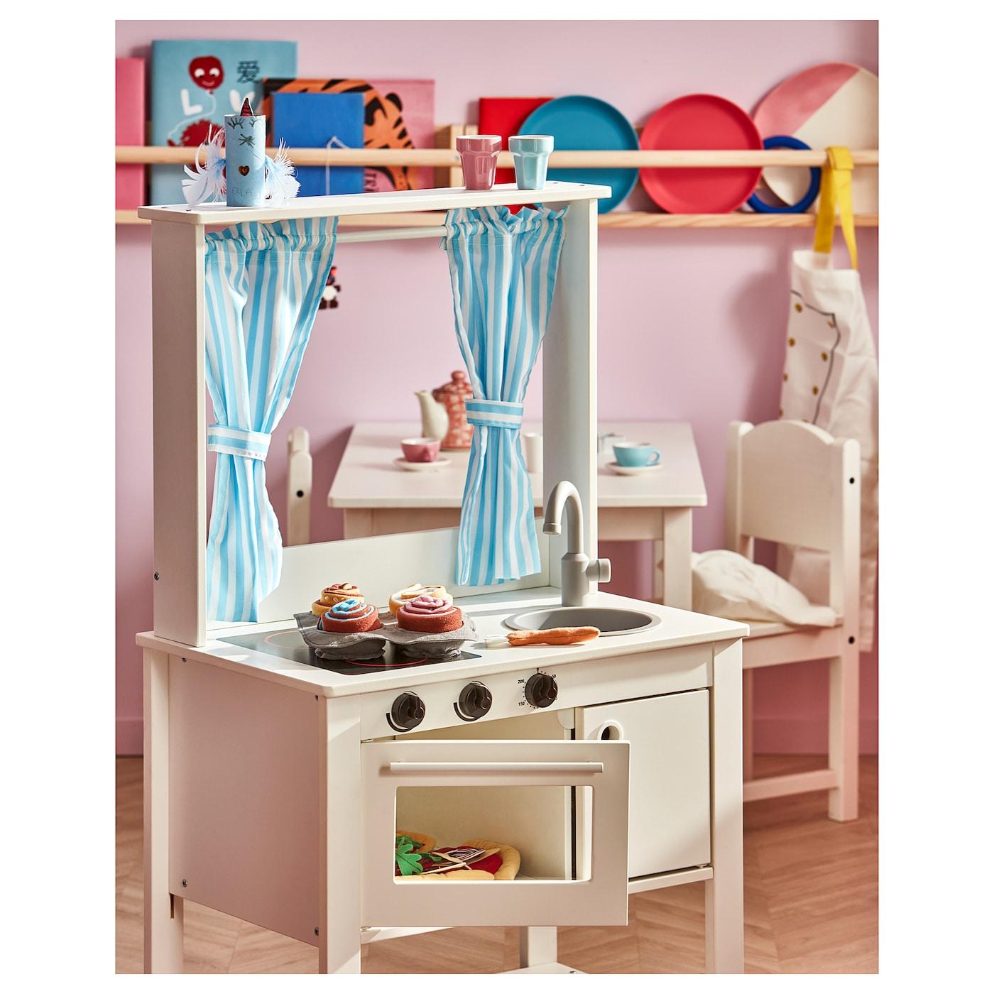 СПІСІГ іграшкова кухня із шторами 55 см 37 см 98 см