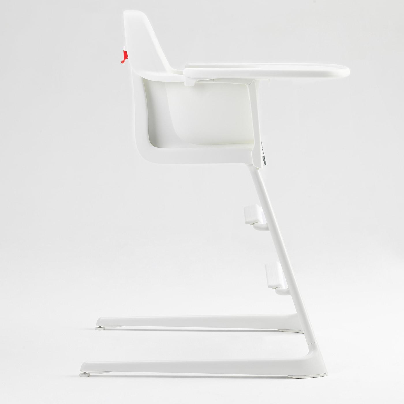 ЛАНГУР дитяч стіл/стільчик д/год зі стільн білий 56 см 61 см 87 см 22 см 21 см 56 см