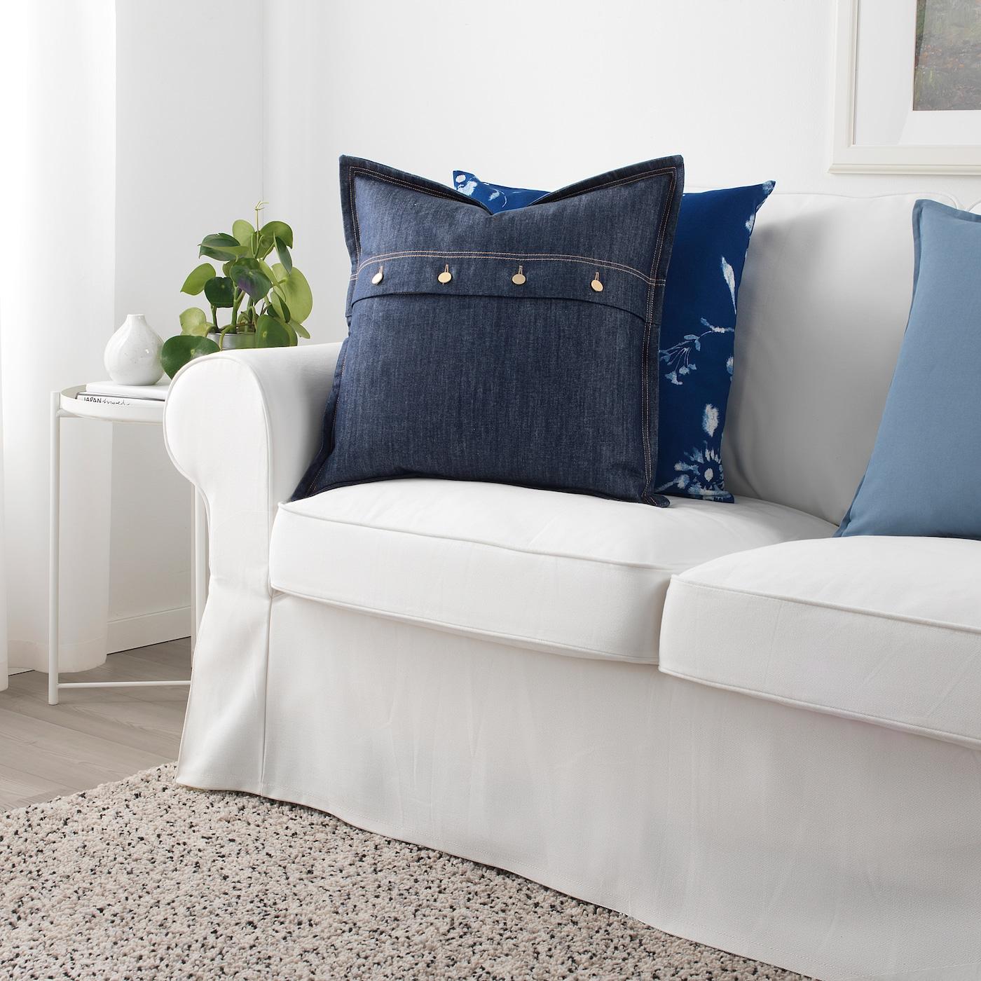 СІССІЛЬ чохол для подушки синій 50 см 50 см