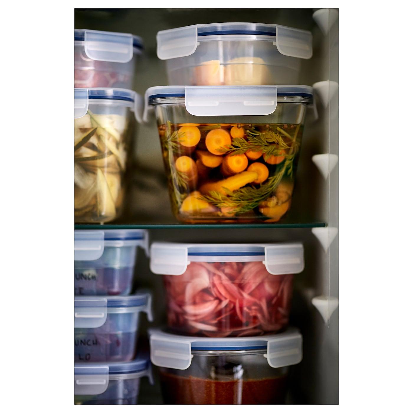 IKEA 365+ харчовий контейнер круглої форми/пластик 8 см 14 см 750 мл