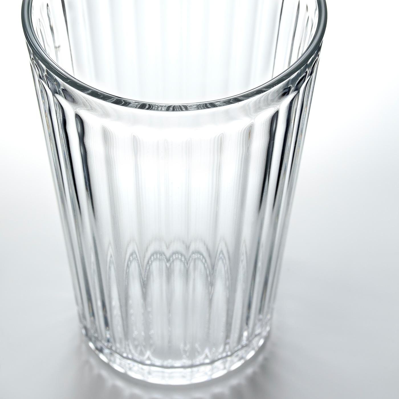 ВАРДАГЕН склянка прозоре скло 13 см 43 сл 6 штук
