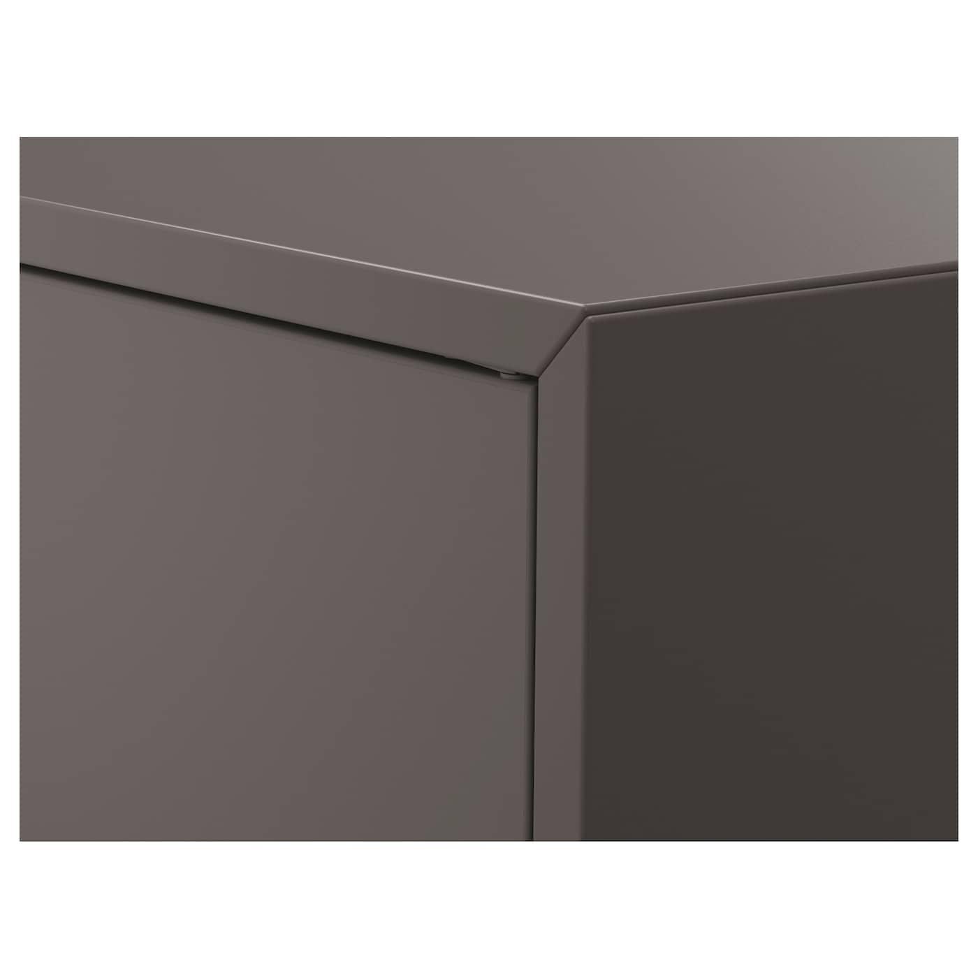 ЕКЕТ шафа, 2 дверцят, 1 полиця темно-сірий 70 см 35 см 70 см 10 кг