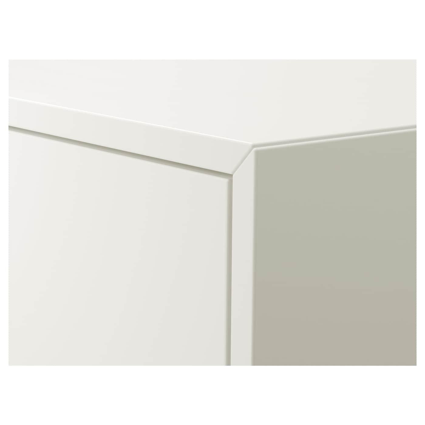 ЕКЕТ шафа з 2 шухлядами білий 35 см 35 см 35 см 26 см 27 см 1.50 кг