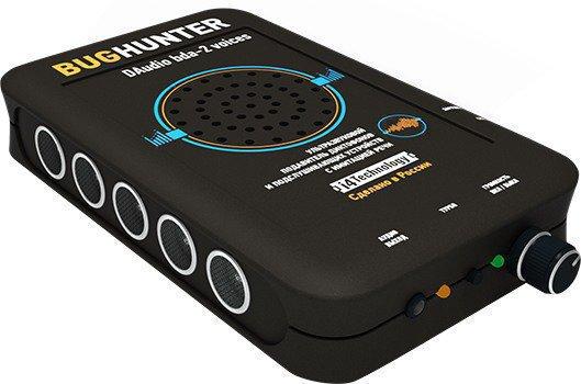 """Подавитель микрофонов шпионских устройств """"BugHunter DAudio bda-2 Voices"""""""
