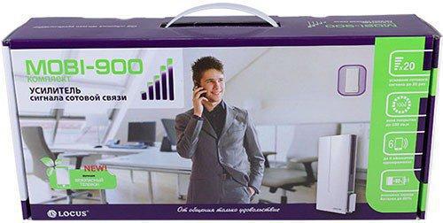 """Усилитель GSM сигнала """"MOBI-900 Country"""" поставляется в подарочной упаковке"""