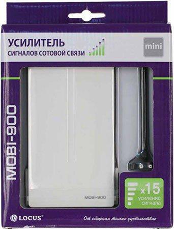 """Усилитель GSM сигнала """"MOBI-900 Mini"""" поставляется в блистерной упаковке"""