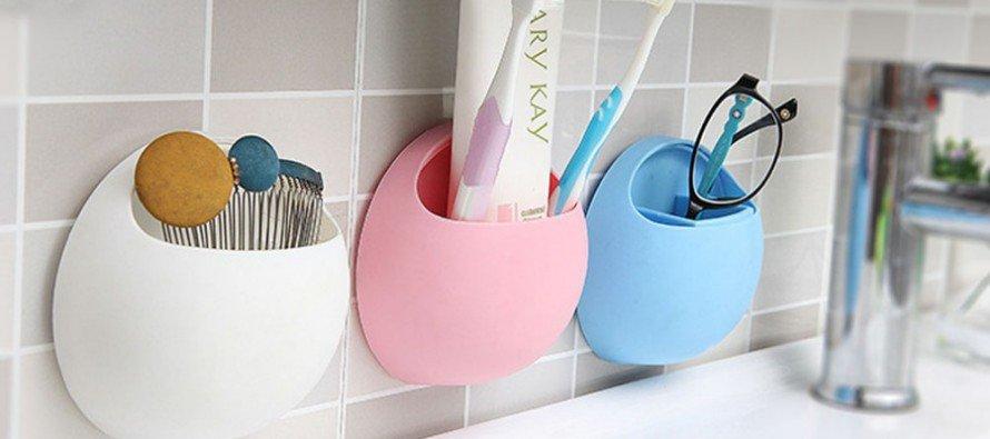 Подставки для зубных щеток - фото Держатель для зубных щеток