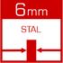 Твердотопливный котел Defro Optima Komfort Plus 35 кВт - фото wymiennik ciepła wykonany z atestowanej stali kotłowej /gat. P265GH/ o grubości 6mm
