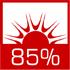 Твердотопливный котел Defro Optima Komfort Plus 35 кВт - фото wysoka sprawność cieplna sięgająca 85% dzięki zwiększonemu odzyskowi ciepła ze spalin