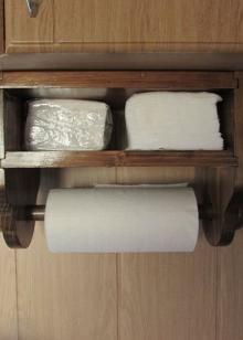 Подставки под бумажные полотенца - фото 36