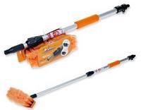 Щетки и скребки для мытья машин - фото Щетка с телескопической ручкой для мытья машины под шланг