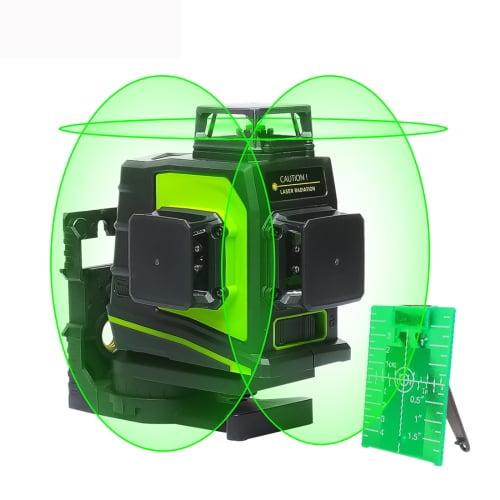 Лазерный уровень зеленого цвета