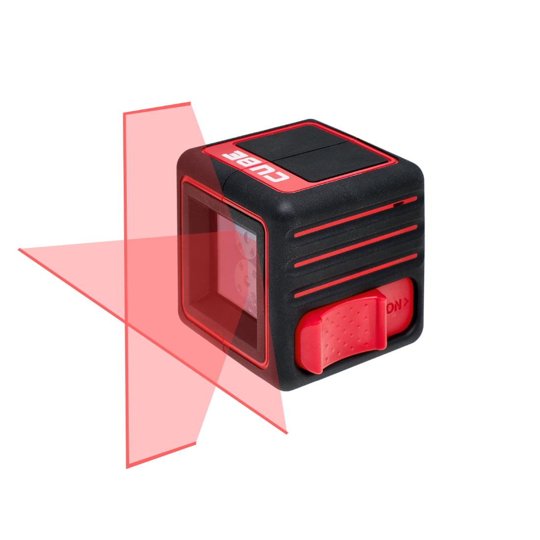 Лазерный уровень красного цвета