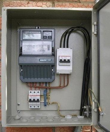 Ящик электрический наружный